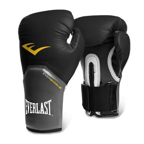 Luva Muay Thai Boxe Pro Style Elite - Everlast [preta] 12oz