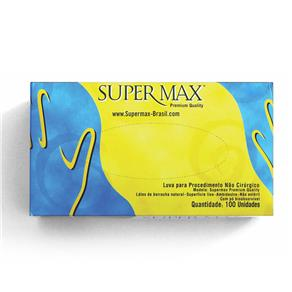 Luva Látex para Procedimento não Cirúrgico M Supermax