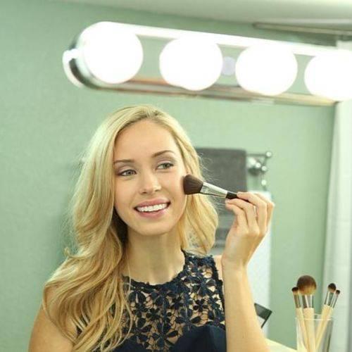Tudo sobre 'Luz de Espelho Camarim para Maquiagem Studio Glow'