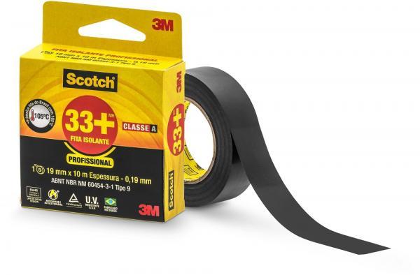 3M Fita Isolante 33+ Scotch 19mm X 10m