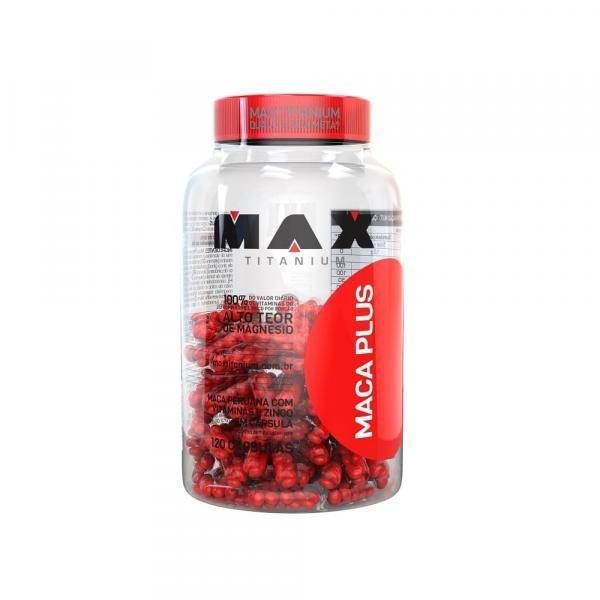 Maca Plus 120 Cápsulas - Max Titanium