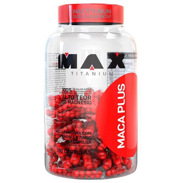 Maca Plus - 120 Cápsulas - Max Titanium