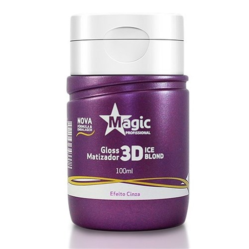 Magic Color Gloss Matizador 3D - Ice Blond 100Ml