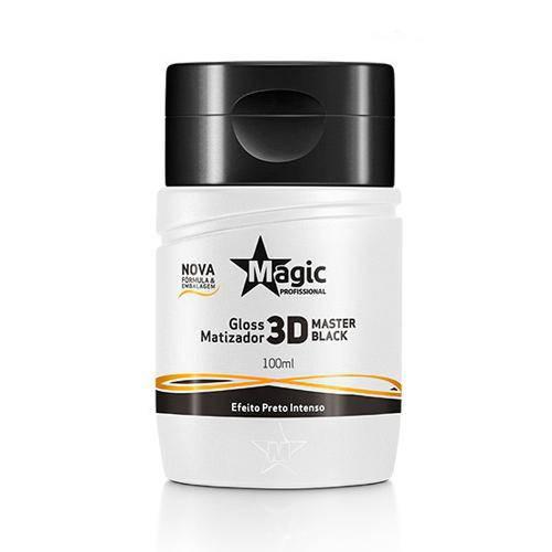 Magic Color Gloss Matizador 3d - Master Black 100ml