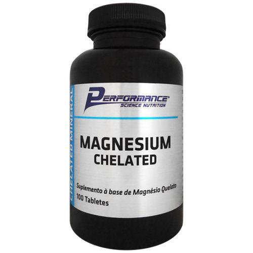 Tudo sobre 'Magnesium Chelated - 100 Tabletes'