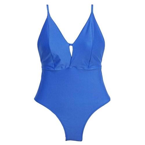 MAIÔ ALÇA COM REGULAGEM G/Azul