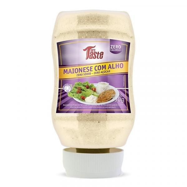 Tudo sobre 'Maionese C/ Alho Zero Sódio/acucar 335g Mrs Taste'