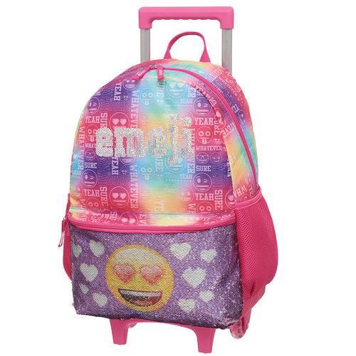 Tudo sobre 'Mala C/carrin G Emoji By Pack me Rainbow'