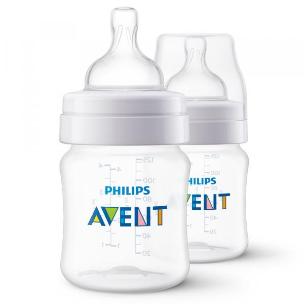 Mamadeira Clássica - Pack Duplo - +0 Mês - 125 Ml - Philips Avent