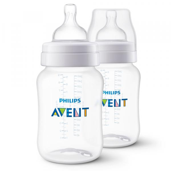 Mamadeira Clássica - Pack Duplo - +1 Mês - 260 Ml - Philips Avent