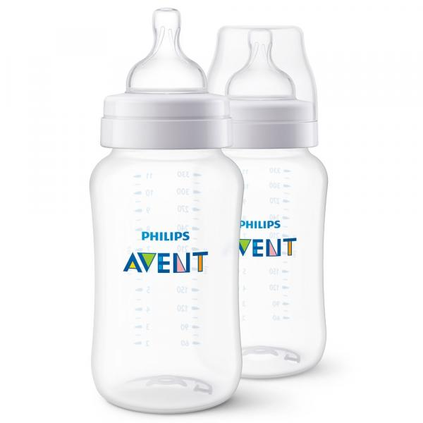 Mamadeira Clássica - Pack Duplo - +3 Meses - 330 Ml - Philips Avent