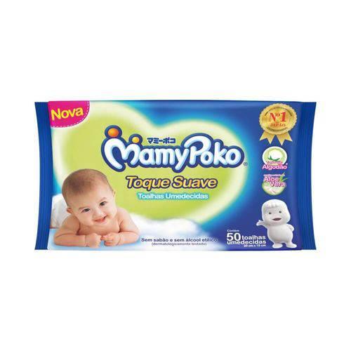 Tudo sobre 'Mamypoko Suave Lenço Umedecido Infantil C/50'