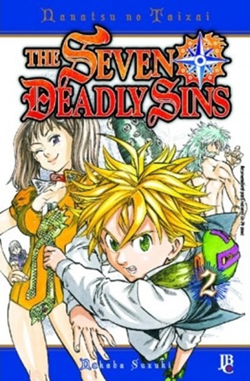 Mangá The Seven Deadly Sins #02