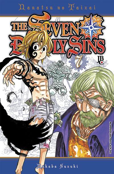 Mangá The Seven Deadly Sins #07