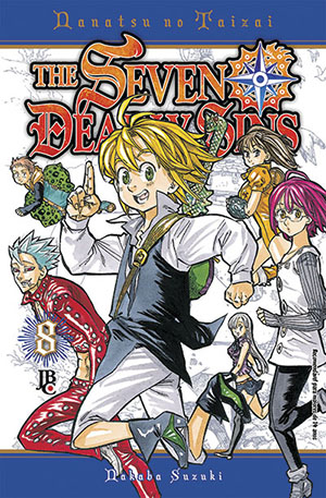 Mangá The Seven Deadly Sins #08