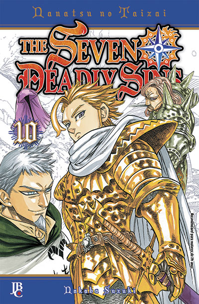 Mangá The Seven Deadly Sins #10