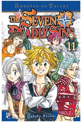Mangá The Seven Deadly Sins #11