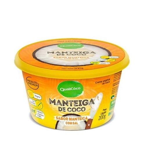 Manteiga de Coco - com Sal - Qualicôco