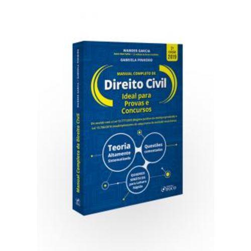 Manual Completo de Direito Civil - 2ª Edição (2019)
