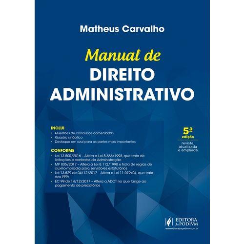 Manual de Direito Administrativo (2018)