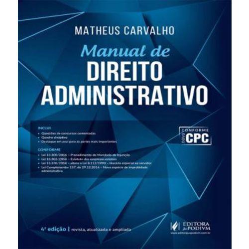 Manual de Direito Administrativo - 04 Ed