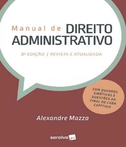 Manual de Direito Administrativo - 08 Ed - Saraiva