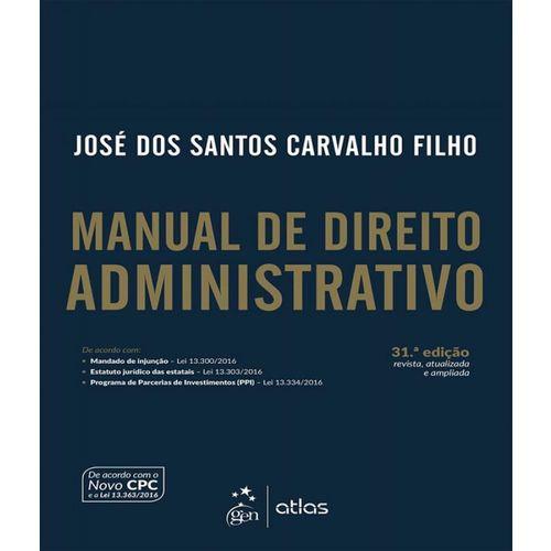Manual de Direito Administrativo - 31 Ed