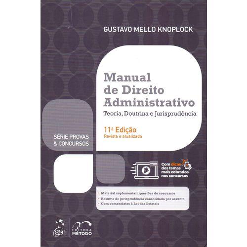 Manual de Direito Administrativo - 11ed/18