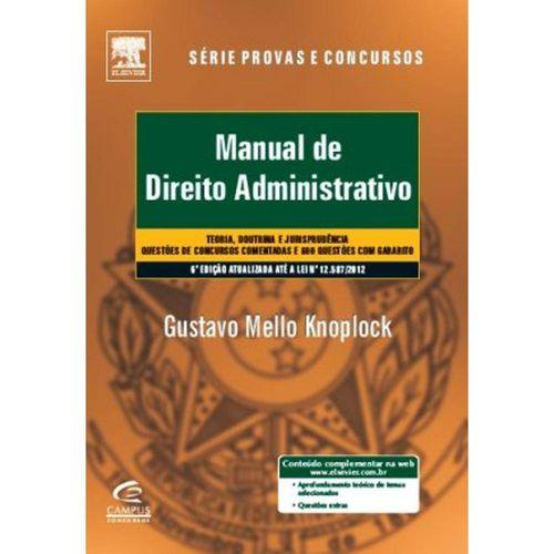 Manual de Direito Administrativo - 6 Ed