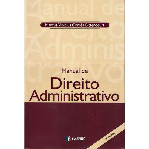 Manual de Direito Administrativo - 6ed/15
