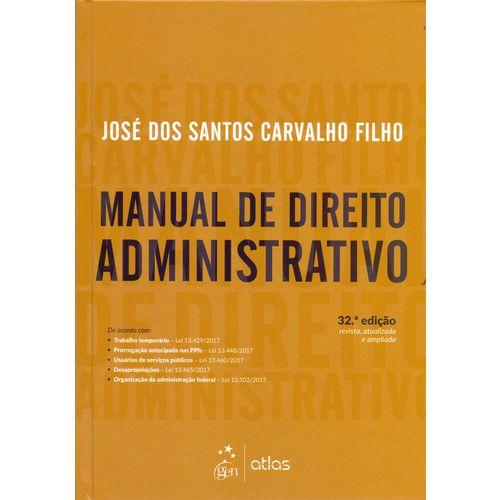 Manual de Direito Administrativo - 32ed/18