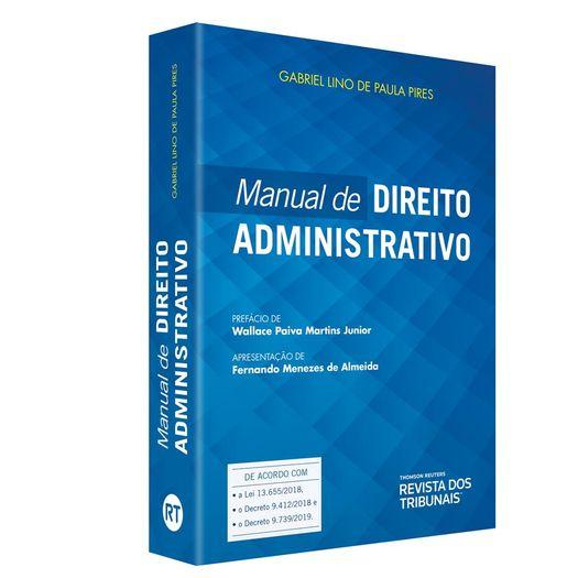 Manual de Direito Administrativo - Rt