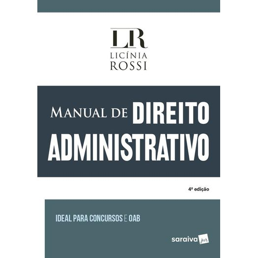 Manual de Direito Administrativo - Saraiva - 4 Ed