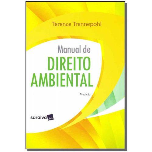 Manual de Direito Ambiental - 07ed/19