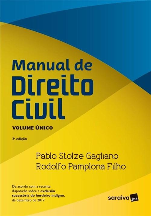 Manual de Direito Civil - Vol. Único - 2ª Ed. 2018