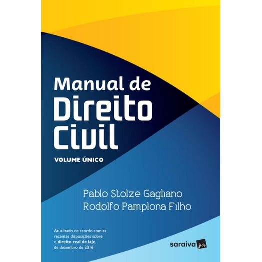 Manual de Direito Civil - Vol Unico - Saraiva - 1ed
