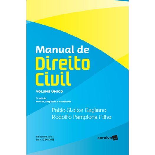 Manual de Direito Civil - Vol Unico - Saraiva