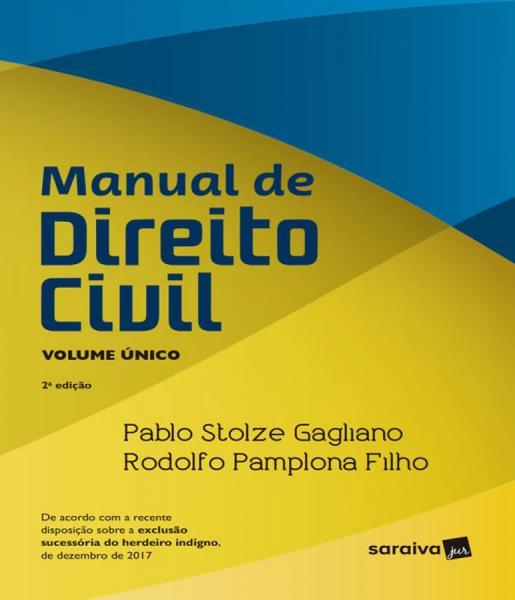 Manual de Direito Civil - Volume Unico - 02 Ed - Saraiva