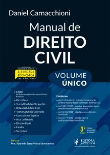 Manual de Direito Civil - Volume Único (2020)