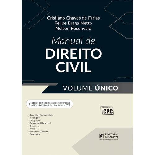 Manual de Direito Civil - Volume Único (2017)