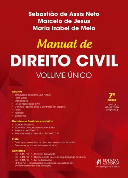 Manual de Direito Civil - Volume Único (2018) - Juspodivm
