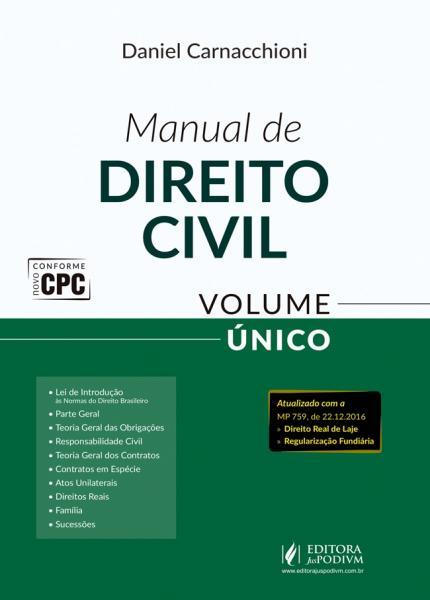 Manual de Direito Civil - Volume Unico - Juspodivm - 1