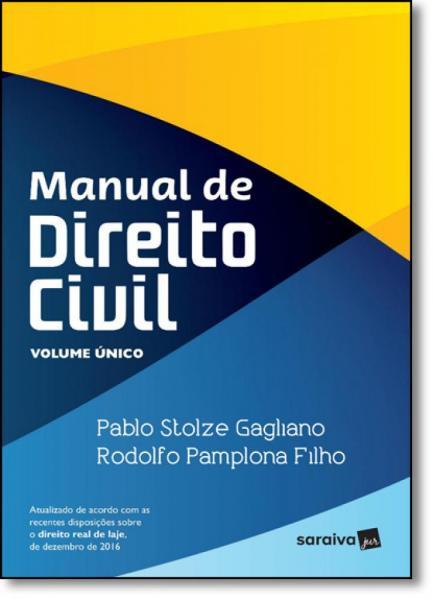 Manual de Direito Civil - Volume Único - Saraiva
