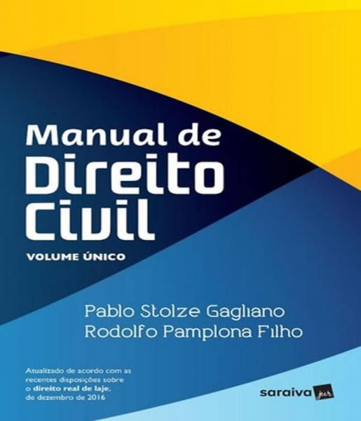 Manual de Direito Civil - Volume Unico - Saraiva