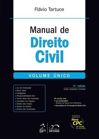 Manual de Direito Civil - Volume Unico