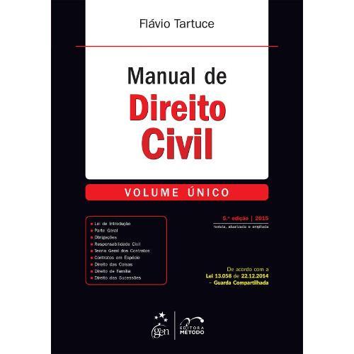 Manual de Direito Civil Volume Único
