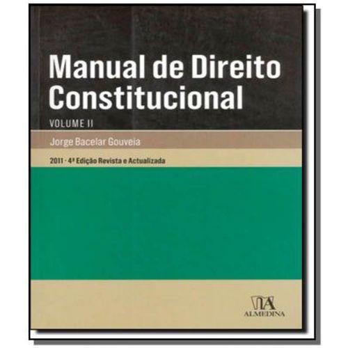 Manual de Direito Constitucional - Vol.2 01