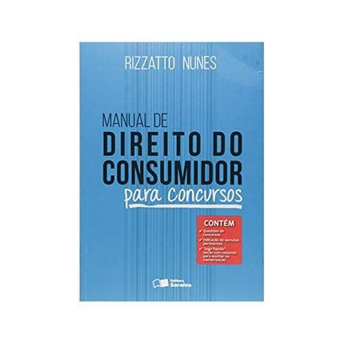Manual de Direito do Consumidor 1ªed. - Saraiva