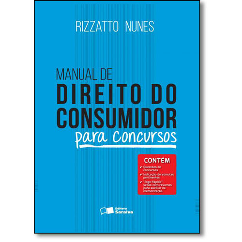 Manual de Direito do Consumidor - para Concursos
