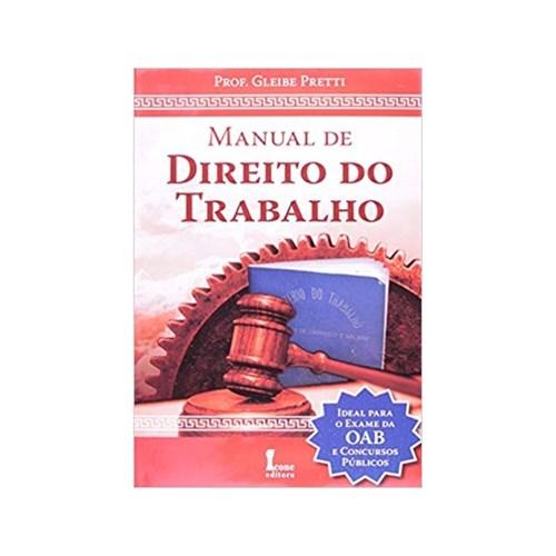Manual de Direito do Trabalho - 1ª Ed. - Icone
